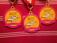 The Medals that will be given out at the Armstrong Pie Festival!