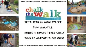 Downtown Linden, from 10-?? free Chalk for sidewalk drawings on the sidewalks of Linden!